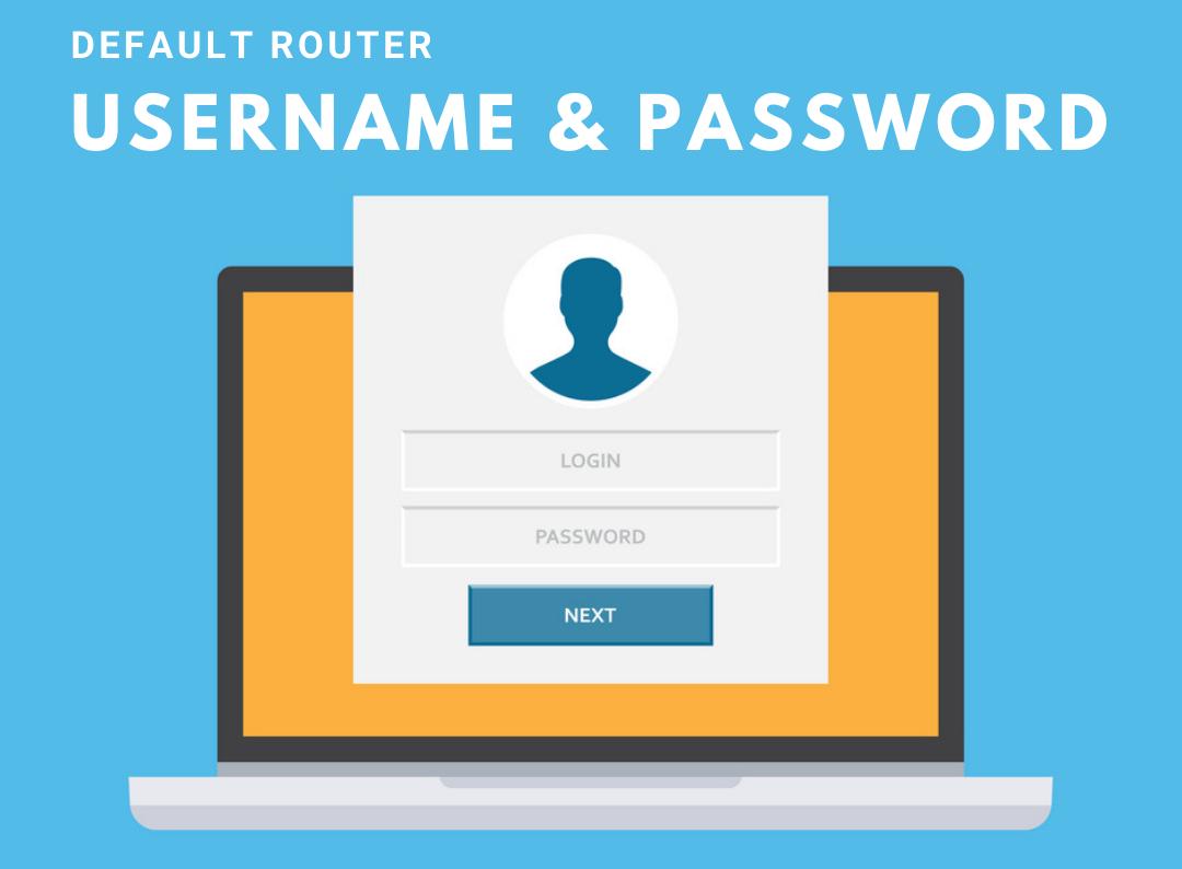 default Username & Password